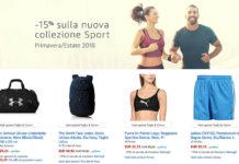 Sconto nuova collezione sport Amazon