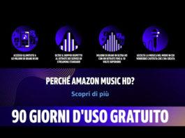 Amazon Music HD: 90 giorni gratuiti