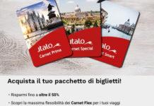 Italo treno: Sconti fino al 50% per i clienti Più