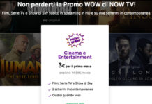 Now Tv a soli 3€