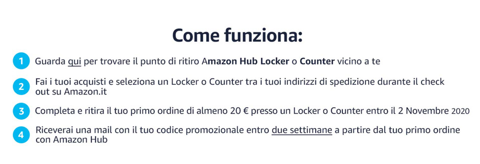 Amazon Hub: come funziona