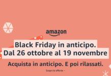 Back Friday 2020 - Offerte AMazon in anticipo