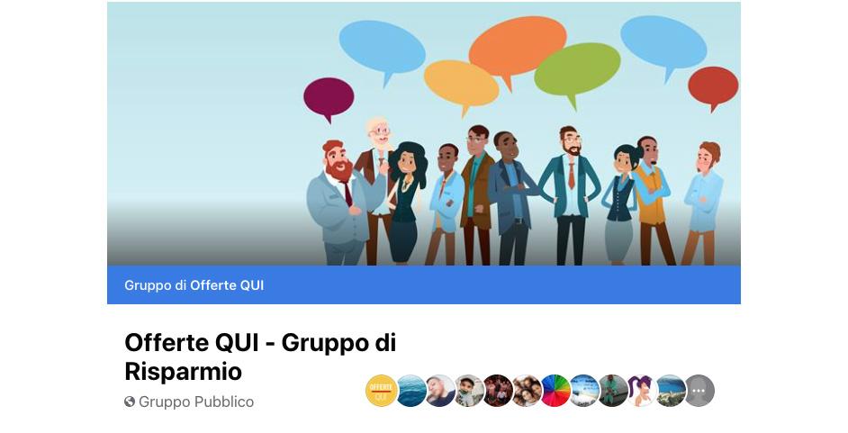 Unisciti al nostro Gruppo Facebook
