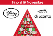Disney Store - 20% su tutto il catalogo fino al 19 Novembre