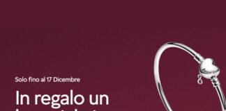 Pandora ricevi un bracciale in omaggio del valore di 69€