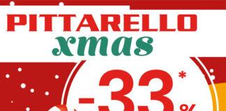 Promo Pittarello -33% sul secondo prodotto meno caro