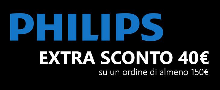 Promo Philips 40€ extra sconto su Amazon