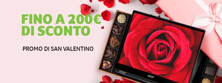 Acer Store - Promo San Valentino - 20% di sconto su articoli selezionati