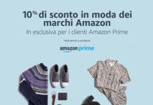 Amazon Moda - 10% con codice sconto FASHION10