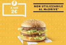 McDonald's Offerta Big Mac a soli 2 euro