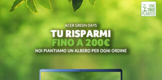 Acer Italia fino a 500€ di sconto con i Green Days