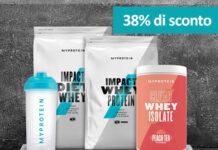 MyProtein -38% sui prodotti più venduti