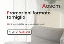 Aosom codice sconto esclusivo FAMILY10