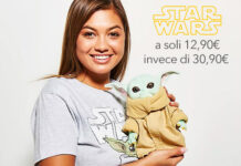 Baby Yoda a soli 12,90 invece di 30,90 su shopDisney
