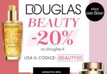 Profumeria Douglas -20% con coupon