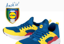 Scarpe Lidl Fan Collection a 12,99€
