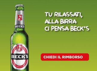 Beck's birra - Richiedi il cashback