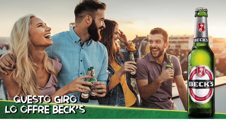Beck's ti regala la birra - richiedi il rimborso di 10€