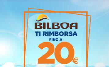 Bilboa ti rimborsa 20€ acquistando almeno 2 prodotti