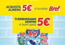 Bref ricevi un buono spesa da 5€ se spendi 5€