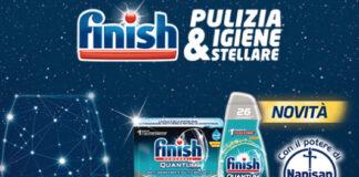 finish quantum Acquista due detergenti e ricevi il Quantum gratis