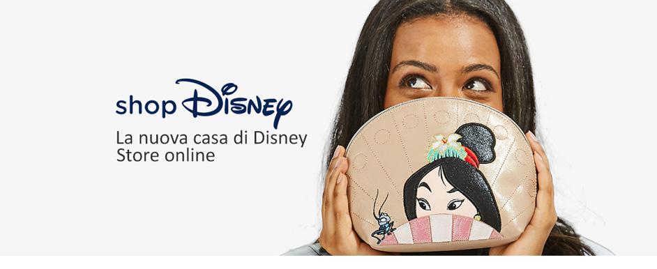 Disney Store - 20% di sconto su una spesa di 50 euro