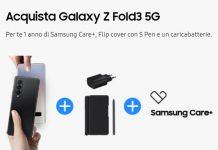 Galaxy Z Fold 3 ricevi in omaggio la Cover S Pen e il caricabatterie
