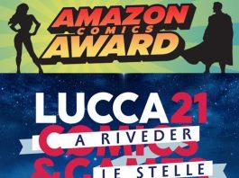 Amazon Lucca Comics&Games scegli il miglior fumetto