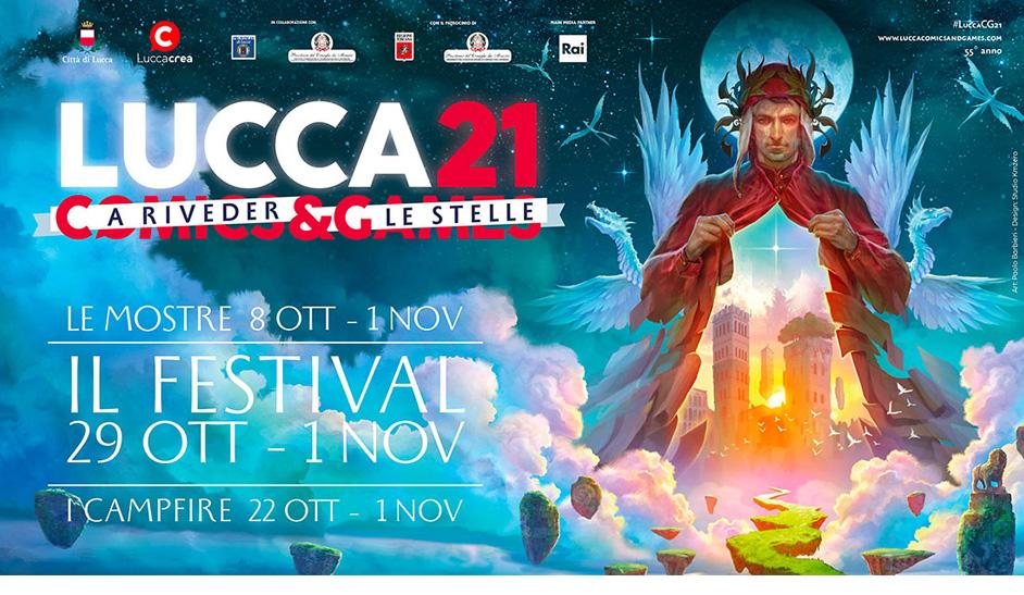 Lucca Comics e games - inizia il 29 Ottobre