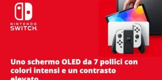 Nintendo switch Oled in arrivo l'8 ottobre