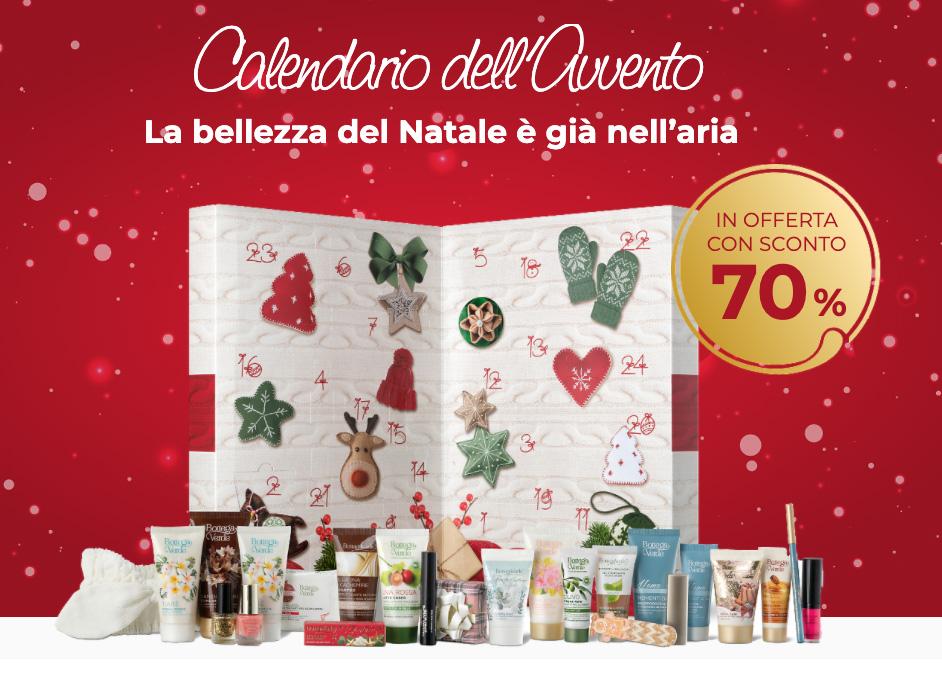 Bottega Verde Calendario dell'Avvento al -70%