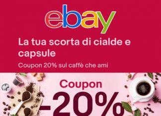 Coupon Ebay - Utilizza il codice sconto per ottenere il 20% di sconto